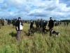 Gruppe 7 im Feld